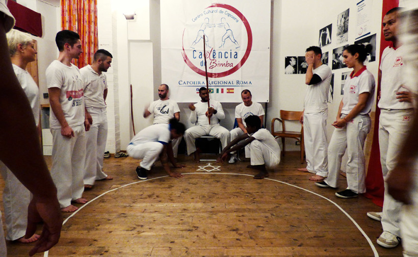 lezioni capoeira roma