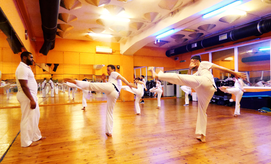 lezione di capoeira